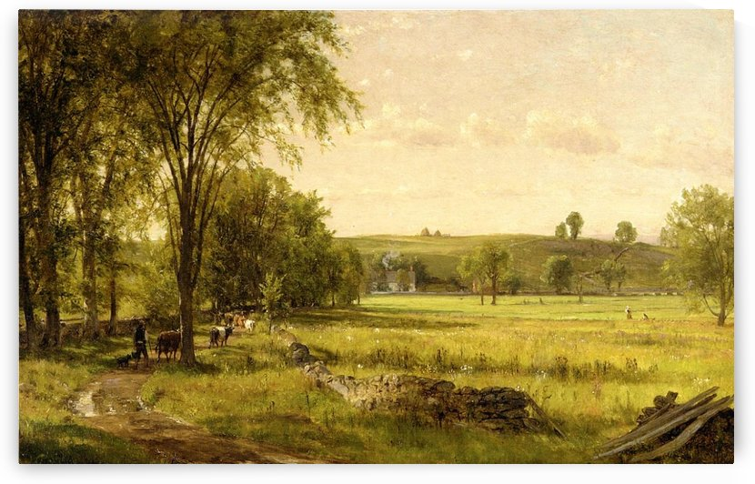 Near Gray Court Junction by Thomas Worthington Whittredge