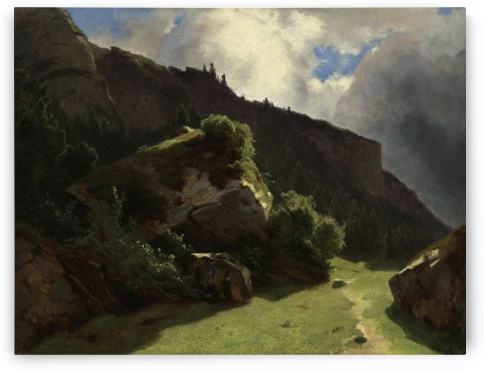 Landscapes and Chalets by Alexandre Calame