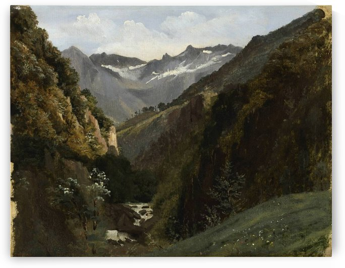 Swiss, 1810-1864 by Alexandre Calame