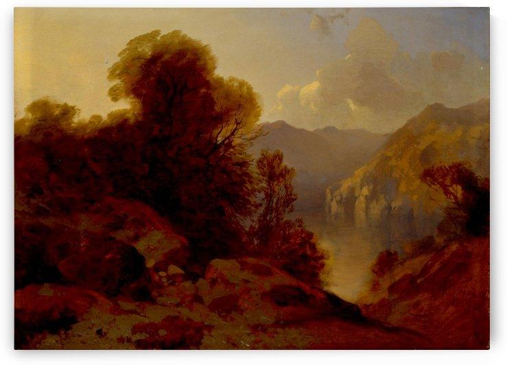 Il Lago dei Quattro Cantoni by Alexandre Calame
