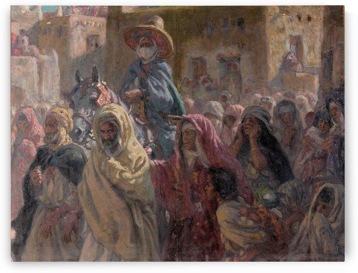 Les prisonniers du Cheikh by Etienne Dinet