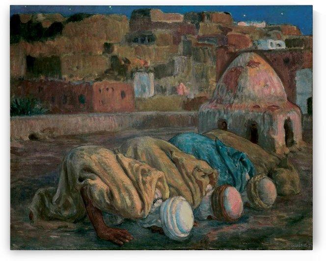 Las Arabes d Algerie by Etienne Dinet