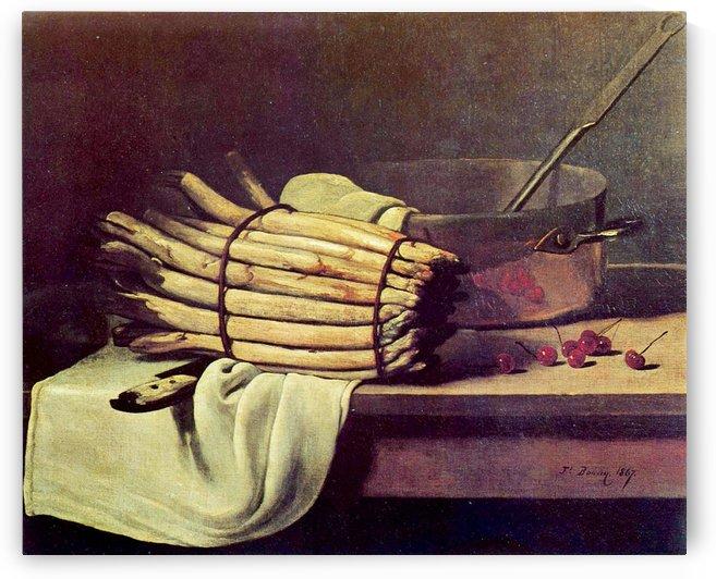 Asparagus Zeit by Francois Bonvin