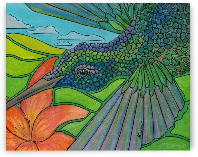 In To The Hummingbird's Eye by Janis Cornish