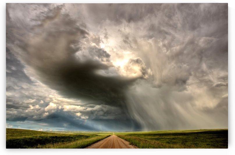 Storm Saskatchewan Canada by Mark Duffy