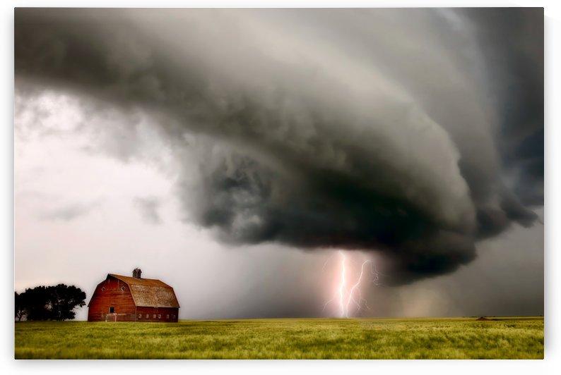Storm  and Lightning Saskatchewan by Mark Duffy