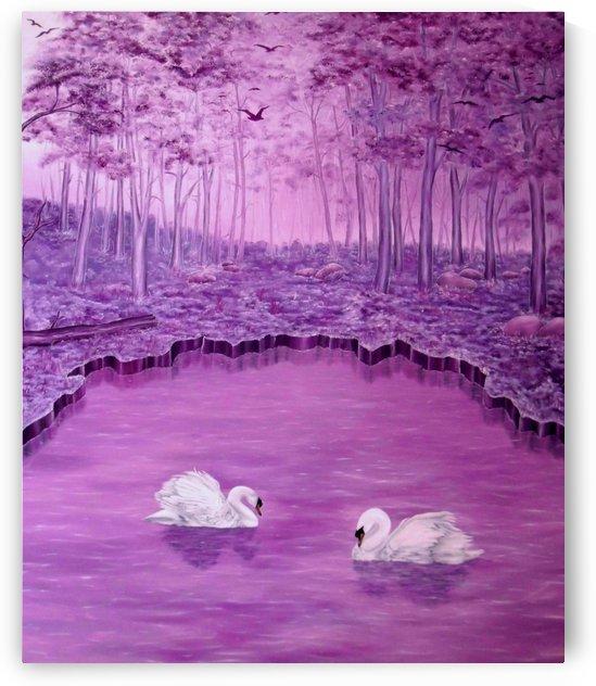 Lake Fantasy by Faye Anastasopoulou