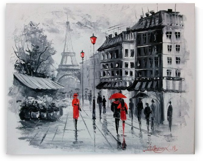 Paris by Olha Darchuk