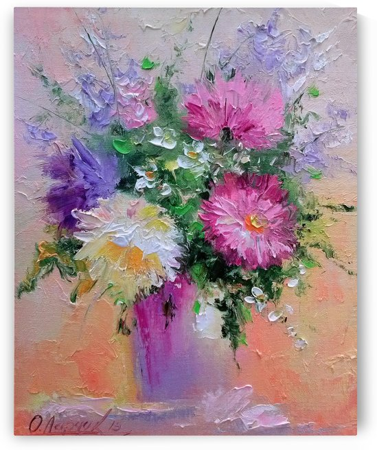 Flowers by Olha Darchuk