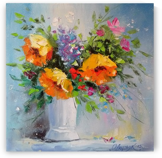 Букет желтых цветов by Olha Darchuk