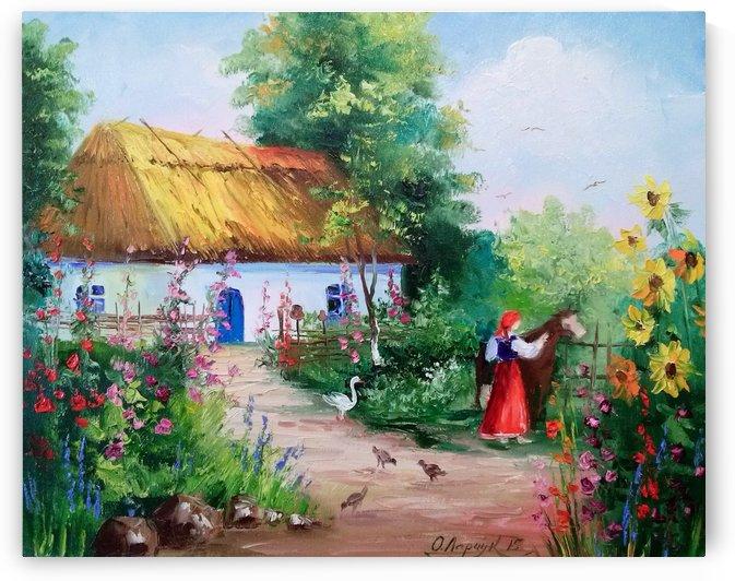Село by Olha Darchuk