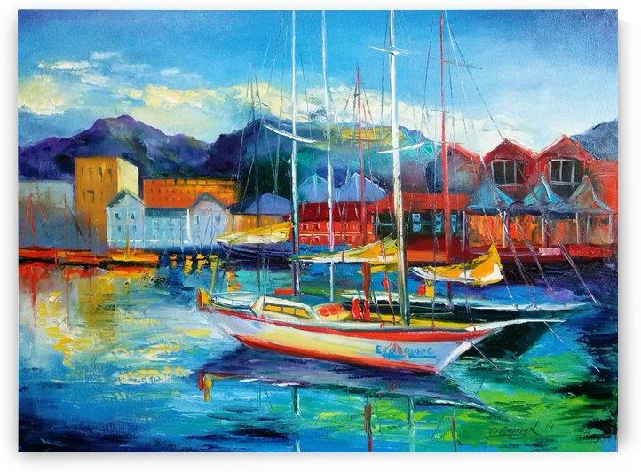 Лодки в Испании by Olha Darchuk