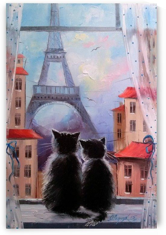 Друзя в Париже by Olha Darchuk