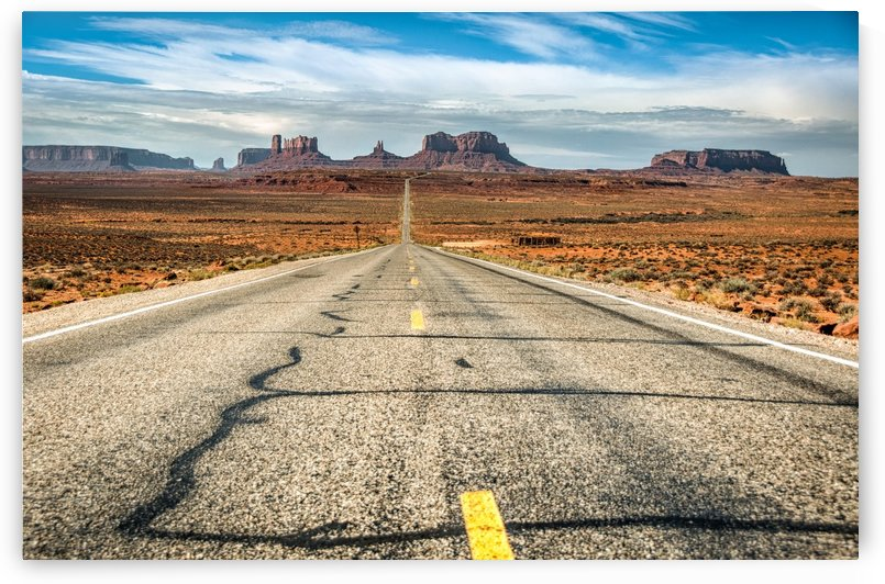 Monument Valley  by Andrea Spallanzani