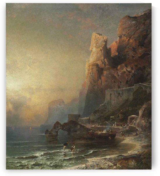 Unterberger Salerno 1837 by Franz Richard Unterberger