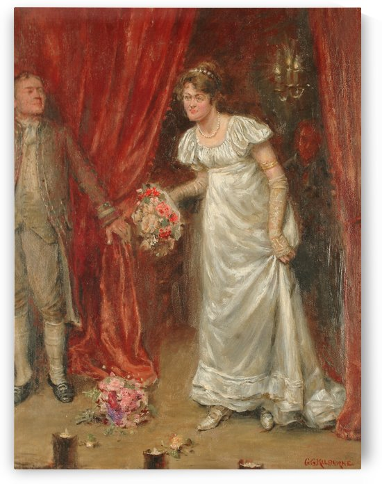 The final bow by George Goodwin Kilburne