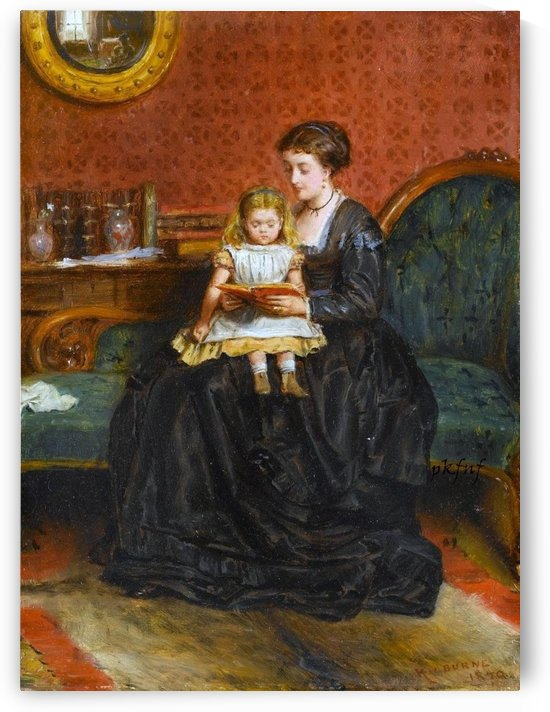 A captivating story by George Goodwin Kilburne