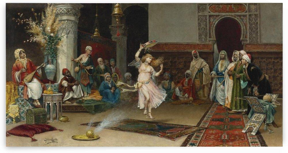 An Oriental Party by Juan Gimenez Martin