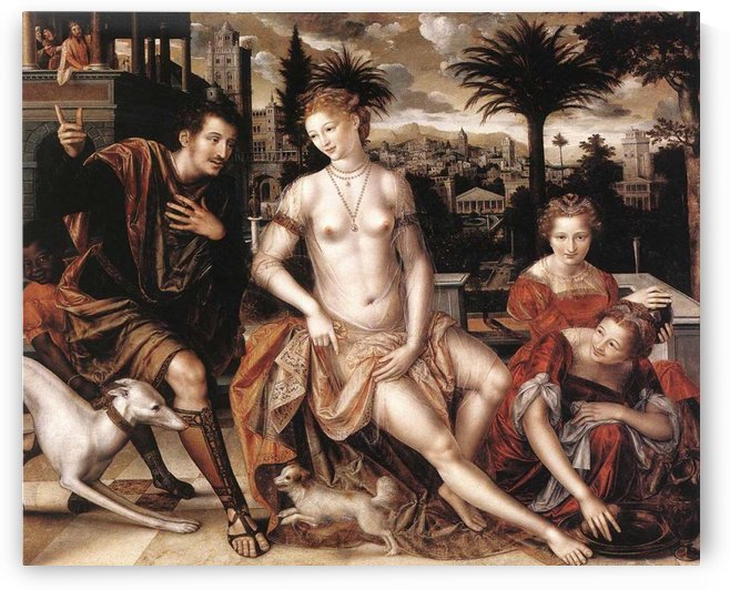 David and Bathsheba by Jan Massys