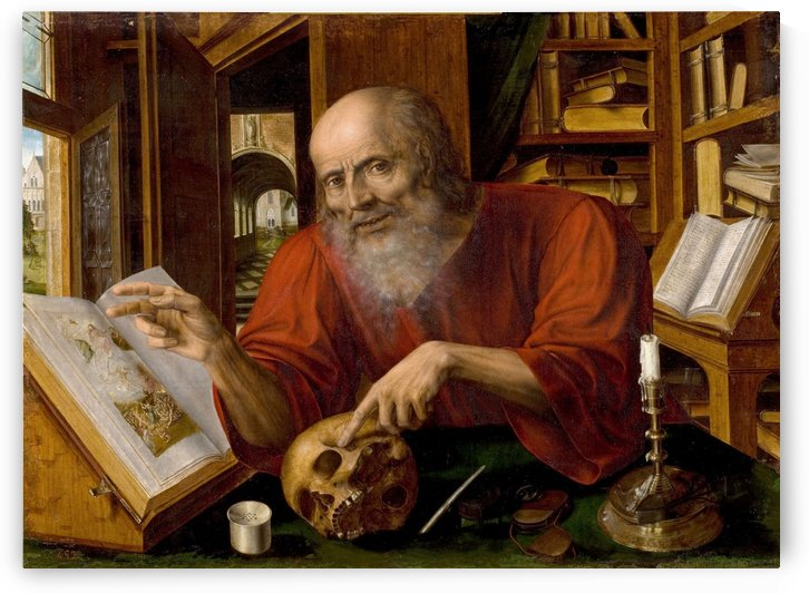 Saint Jerome by Jan Massys