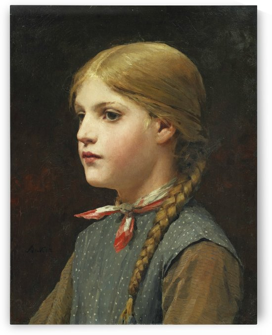 A young girl by Jan Massys