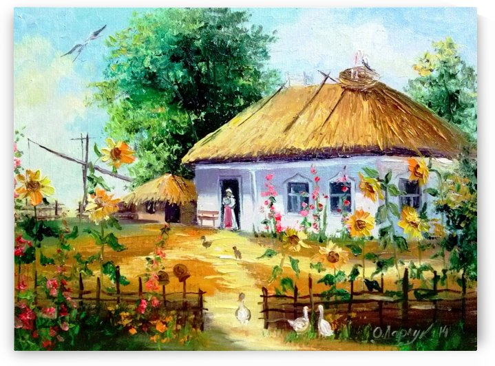 В деревне by Olha Darchuk