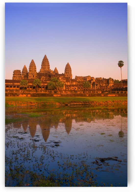 Angkor Wat Temple, Cambodia by PacificStock