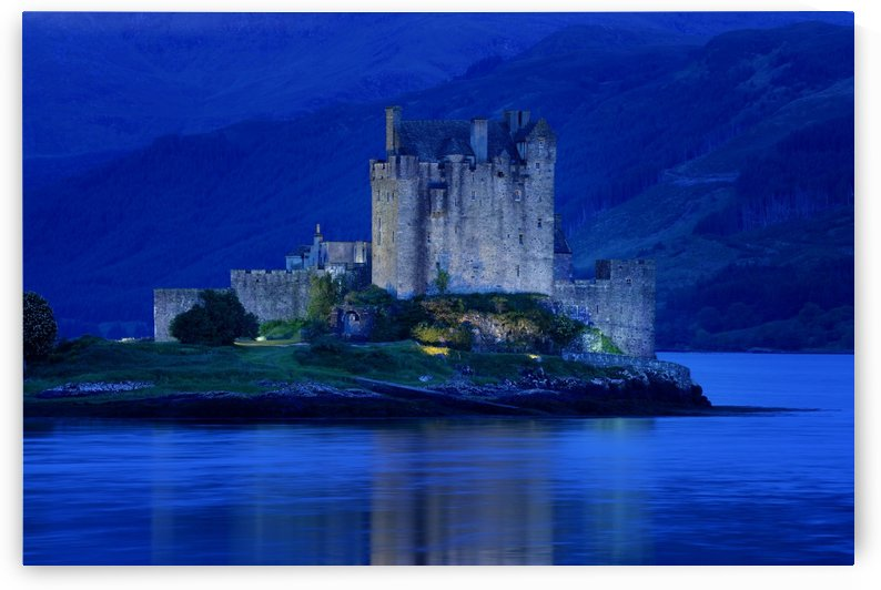 Eilean Donan Castle In Scotland by PacificStock