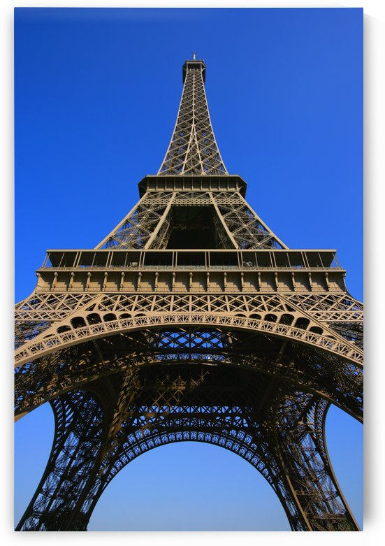 Low Angle Of Eiffel Tower by PacificStock