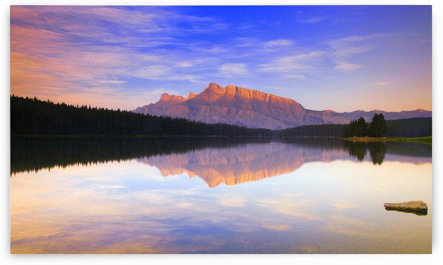 Mount Rundle, Alberta, Canada by PacificStock