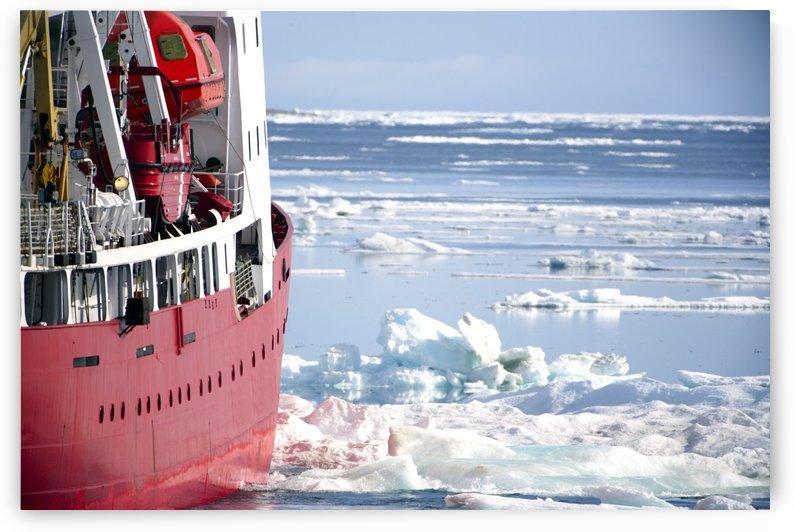Icebreaker Ship by PacificStock
