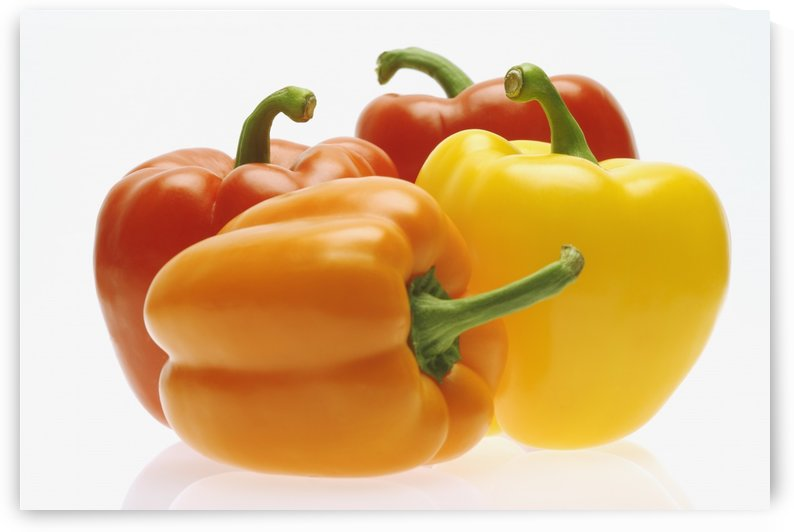 Collection Of Colorful Peppers by PacificStock