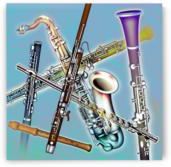 Wind Instruments by PacificStock