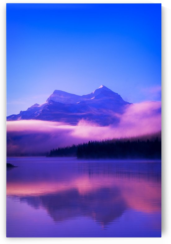 Maligne Lake, Jasper National Park, Alberta, Canada by PacificStock