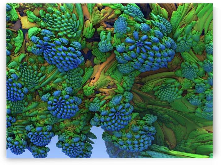 blue florals by Tammy Shook aka Kelra