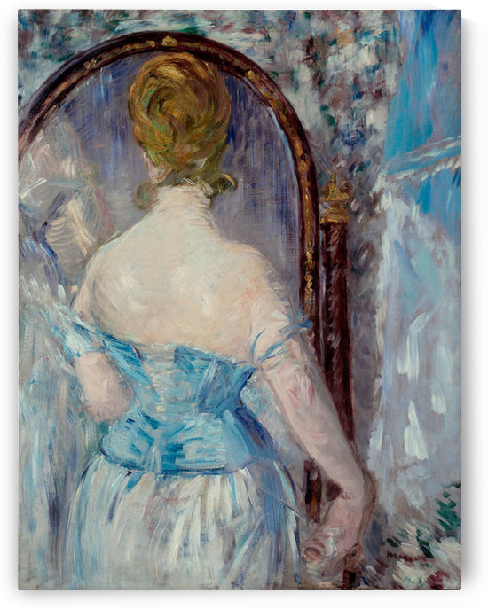 Before the Mirror by Manet by Manet