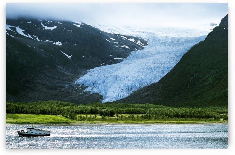 Svartisen Glacier, Norway by PacificStock