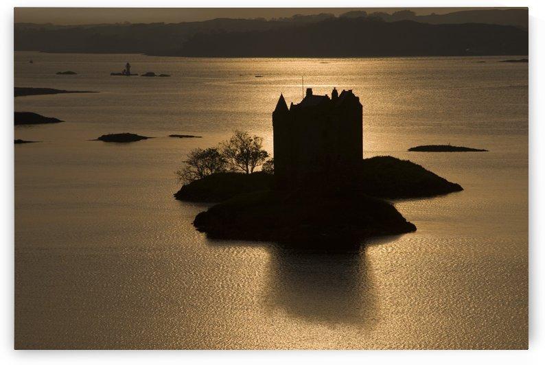 Castle Stalker, Scotland by PacificStock