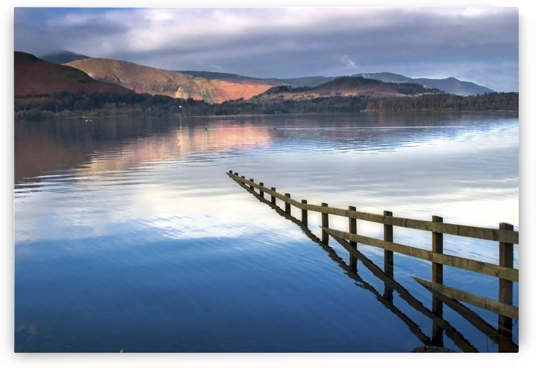 Lake Derwent, Cumbria, England by PacificStock