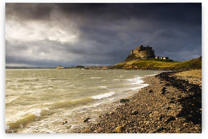 Lindisfarne Castle, Holy Island, Berwick-Upon-Tweed, Northumberland, England by PacificStock