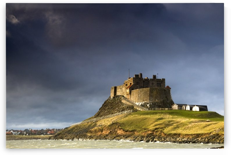 Lindisfarne Castle On A Volcanic Mound Called Beblowe Craig, Holy Island, Bewick, England by PacificStock