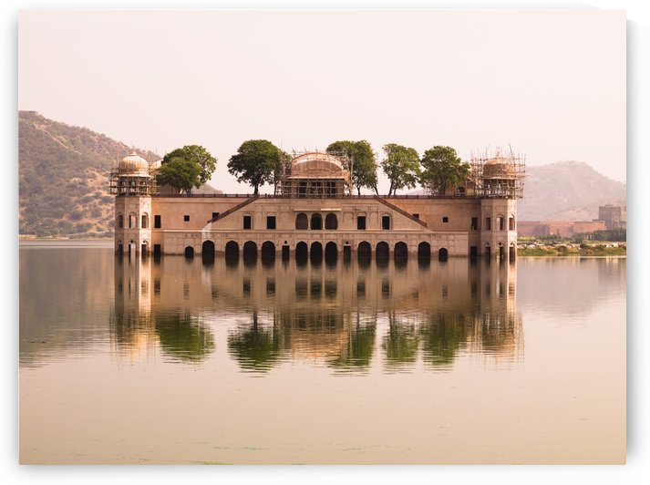 Waterfront Building, Jaipur, India by PacificStock