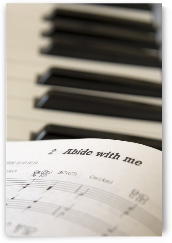 Book Of Music Open On Piano, Close Up by PacificStock
