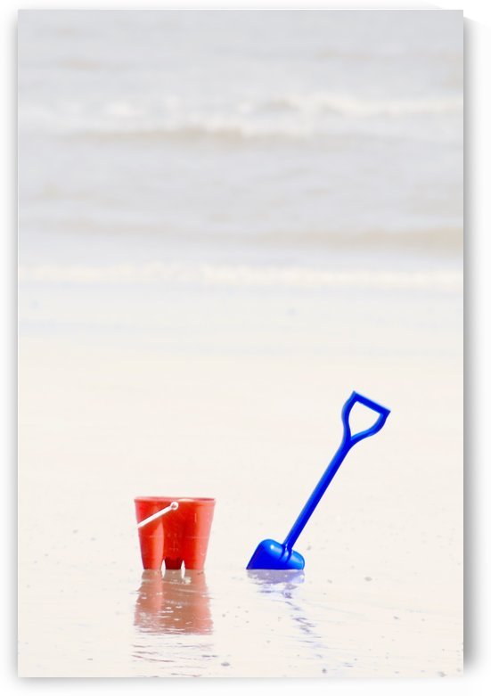 Beach Pail And Shovel, Humberside, England by PacificStock