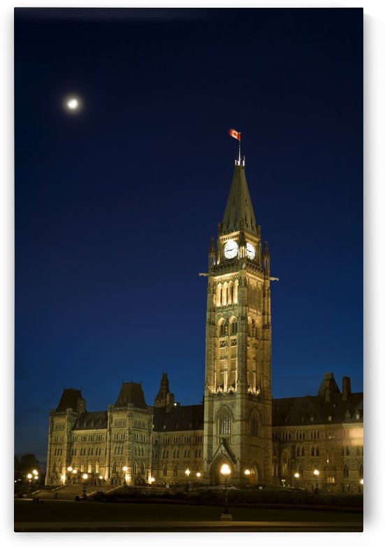 Peace Tower, Parliament Building, Ottawa, Ontario, Canada by PacificStock