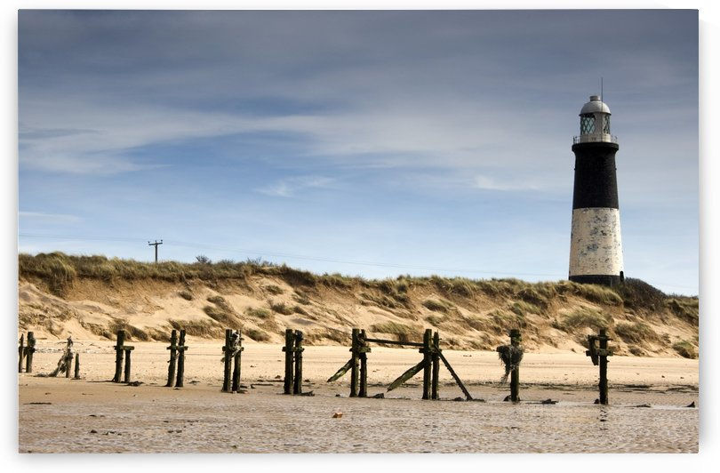 Lighthouse, Humberside, England by PacificStock