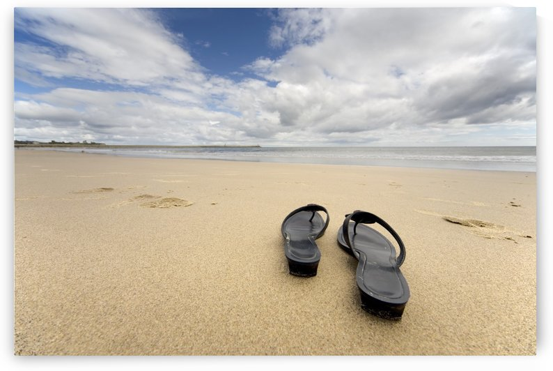 Sandals On The Beach by PacificStock