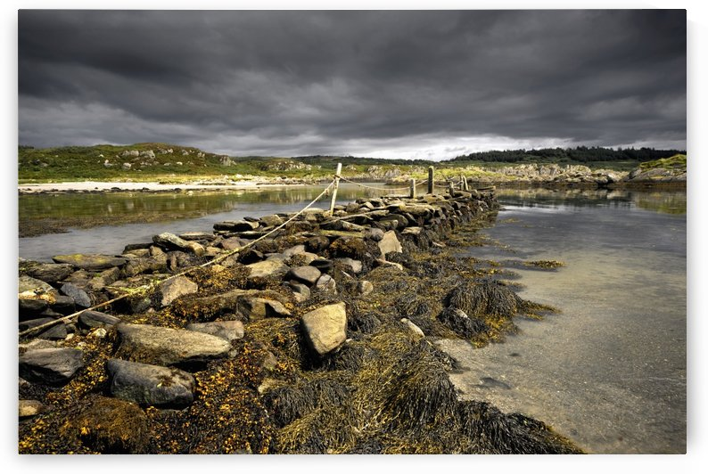 Storm Clouds, Gigha, Scotland by PacificStock