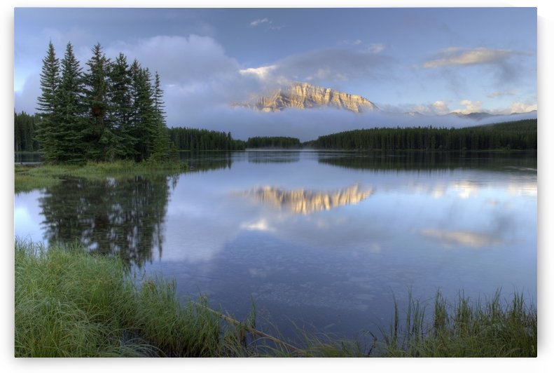 Two Jack Lake, Banff National Park, Alberta, Canada by PacificStock