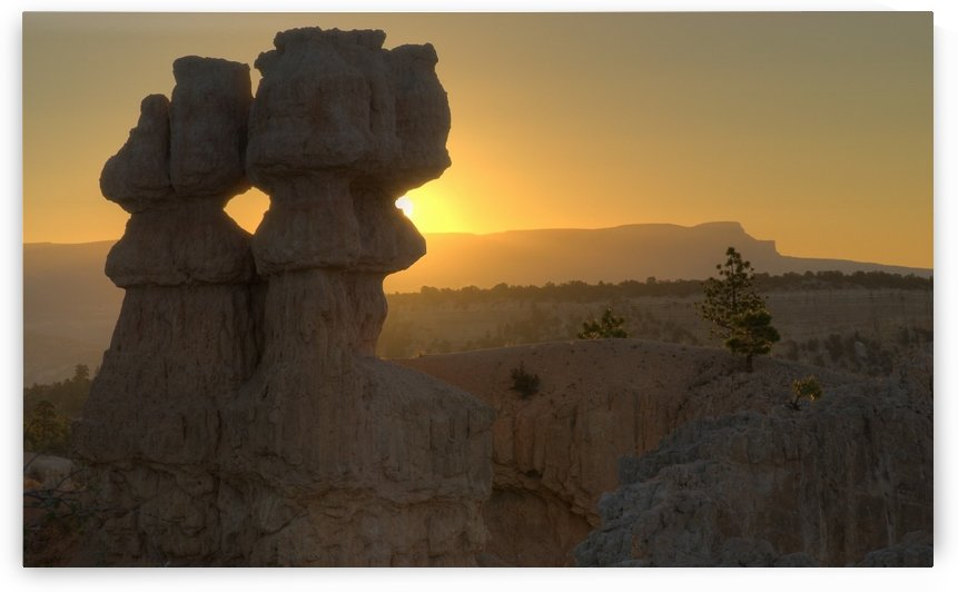 Sunset, Bryce Canyon National Park, Utah, Usa by PacificStock